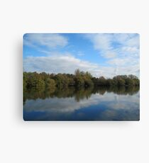 English Countryside Park - UK Canvas Print