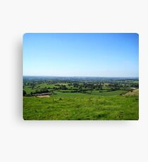 English Countryside - UK Canvas Print