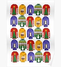 Christmas jumpers Poster