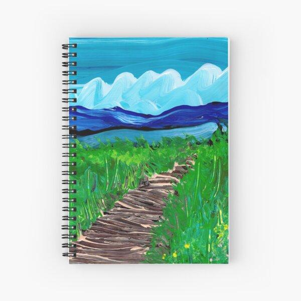 Boardwalk Spiral Notebook
