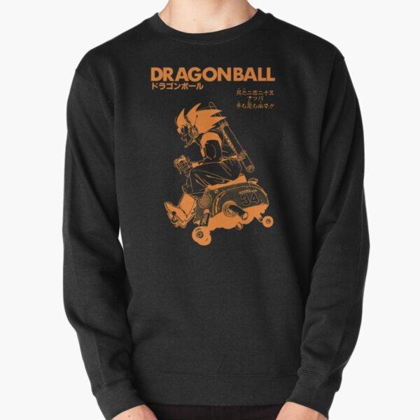 Dragon Ball Orange Goku Sweatshirt épais