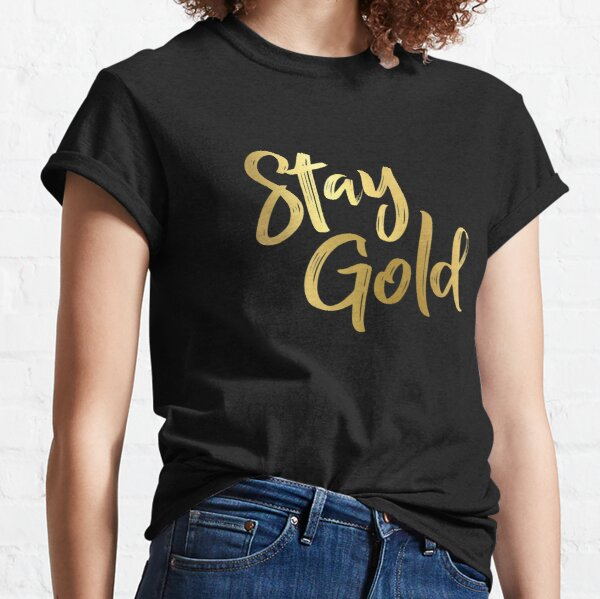 Stay Golden Ponyboy T Shirts Redbubble Memorable quotes and exchanges from movies, tv series and more. stay golden ponyboy t shirts redbubble