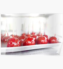 Candy Apples Poster