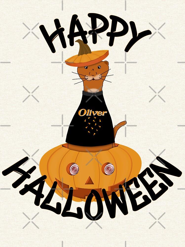 Happy Halloween Oliver! by ButterflysAttic