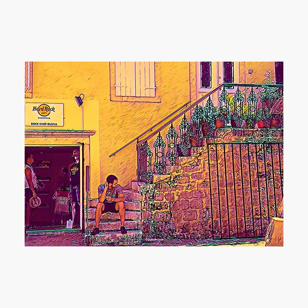 Budva Old Town, Montenegro - Fine Art Collection Photographic Print