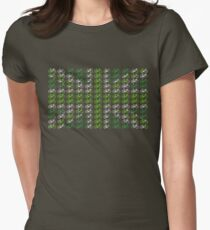Bike Flag United Kingdom (Green - Small) Women's Fitted T-Shirt