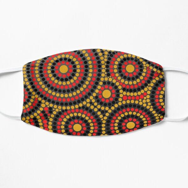 Awesome Aboriginal Dot Art Flat Mask