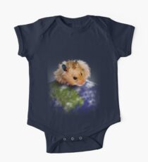 Earth Day Hamster One Piece - Short Sleeve
