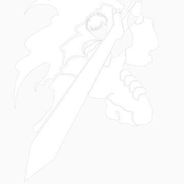 Gatsu (white) by the-minimalist