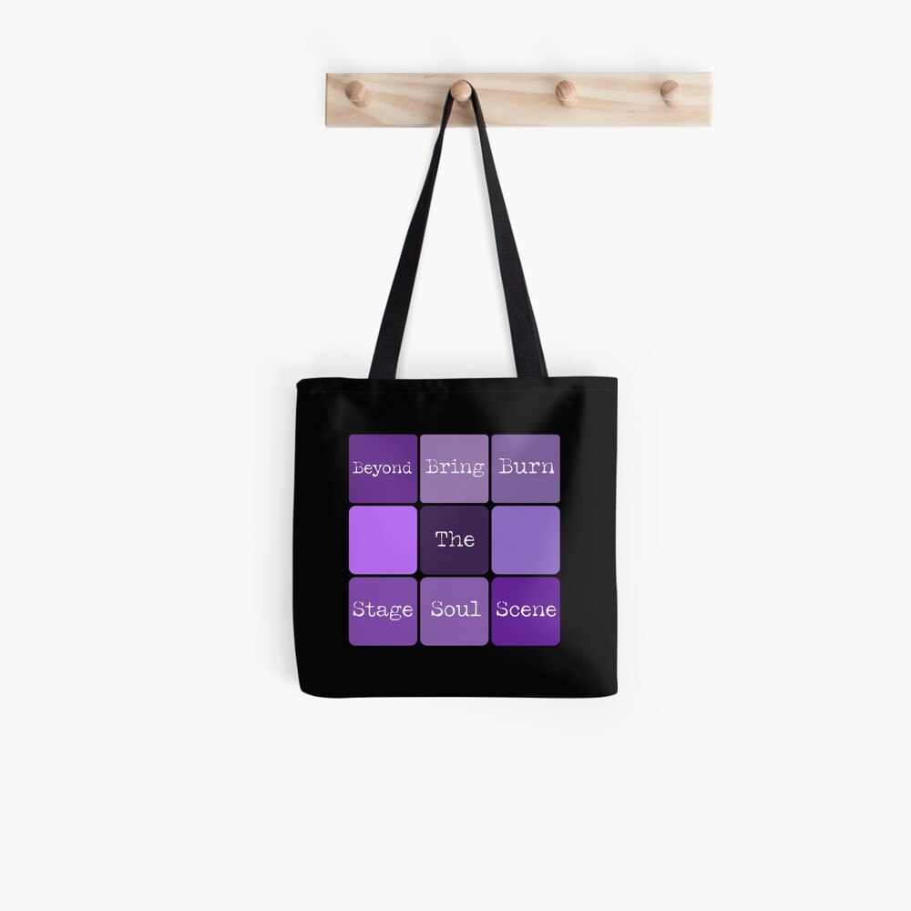 BTS Cube #btsconnect Tote Bag