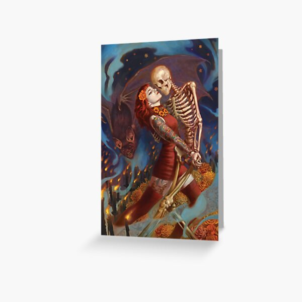 Brujeria Greeting Card