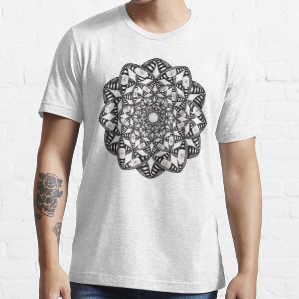 Fly Away With Me Mandala Essential T-Shirt
