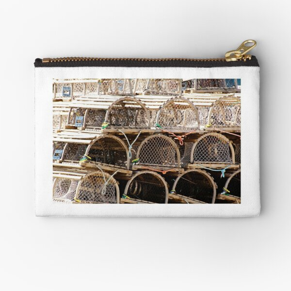 Lobster Pot Art Zipper Pouch
