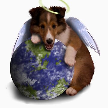 Earth Day Angel Sheltie by jkartlife
