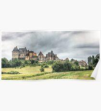 Château de Biron Poster