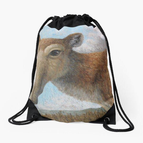 Saiga antelope (Saiga tatarica) Drawstring Bag