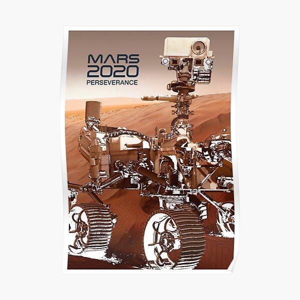 MARS ROVER PERSEVERANCE NASA 2020 Poster