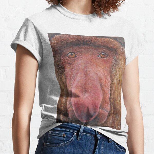 Proboscis Monkey (Nasalis larvatus) Classic T-Shirt
