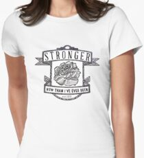 Stronger Women's Fitted T-Shirt
