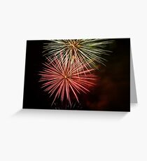 Bunnings fireworks Greeting Card