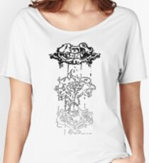 LINEart T-shirt : Three Layers Women's Relaxed Fit T-Shirt