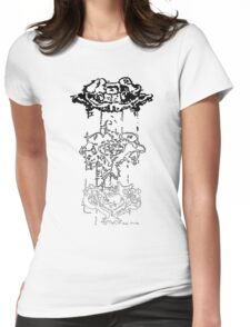 LINEart T-shirt : Three Layers Womens Fitted T-Shirt