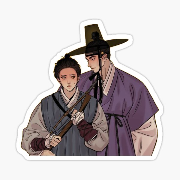 Painter of the Night - Seung Ho and Na Kyum Sticker