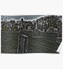 Haunted Cemetery Poster