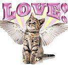Angel Kitten Love by grigs