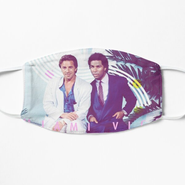 Miami Vice /// Design vintage Masque taille M/L
