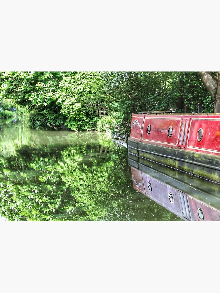 Dreamy Oxford Canal in May by hoxtonboy