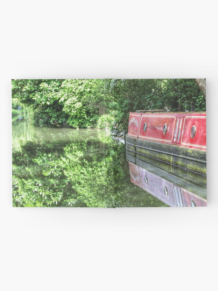 Alternate view of Dreamy Oxford Canal in May Hardcover Journal
