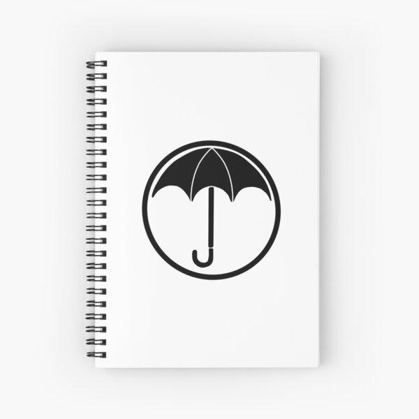 The Umbrella Academy logo Cuaderno de espiral