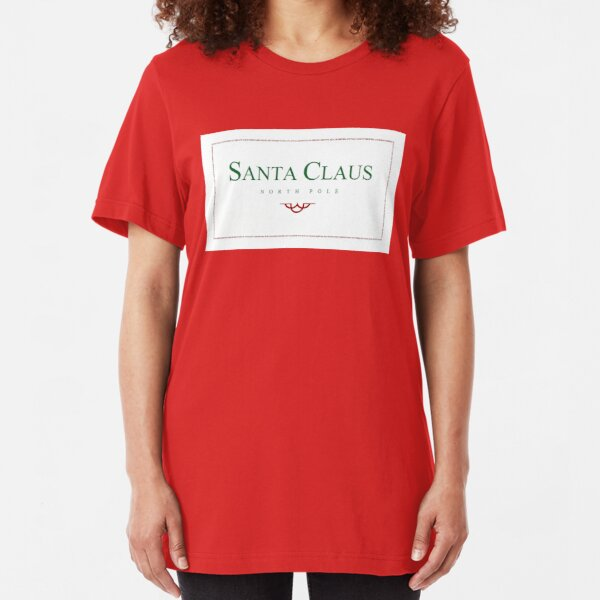 The Santa ClausE (Front) Slim Fit T-Shirt
