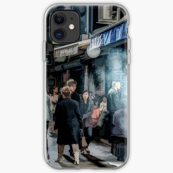 Deckard's Lane (painted) iPhone Soft Case