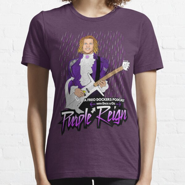 Purple Reign Prince Fyfe Essential T-Shirt