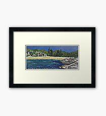 Alma Bay Framed Print