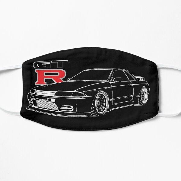 GTR R32 Skyline Godzilla Line Graphic Racing Flat Mask