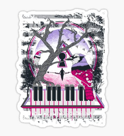 The Composition Sticker