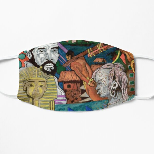African History.  Then and Now  Mask
