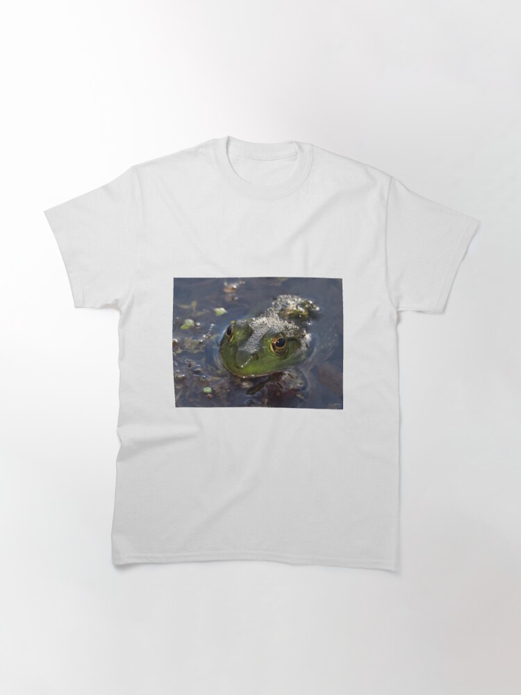 Alternate view of Green Frog Face Classic T-Shirt