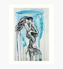Kiss Me Under Art Print