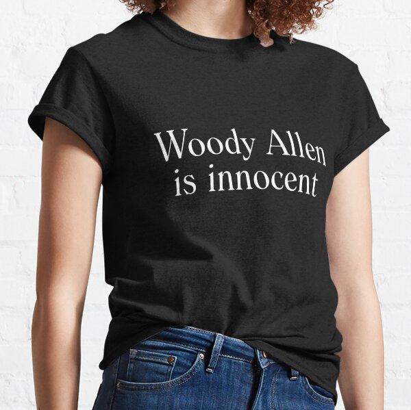 Woody Allen es inocente Camiseta clásica