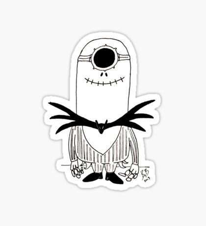 Jack minion Sticker