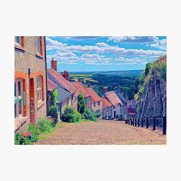 Shaftesbury, England - Fine Art Collection Photographic Print