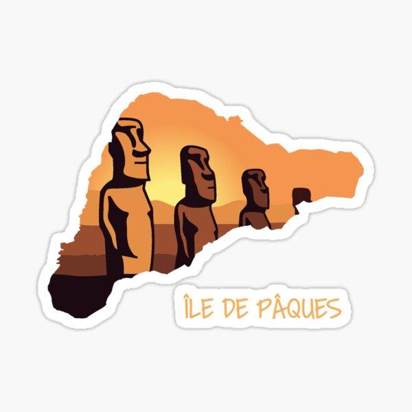 Easter Island - Moai Sticker