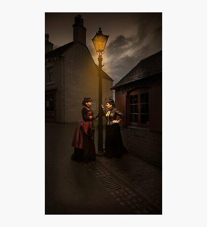 Lamp Light Ladies Photographic Print