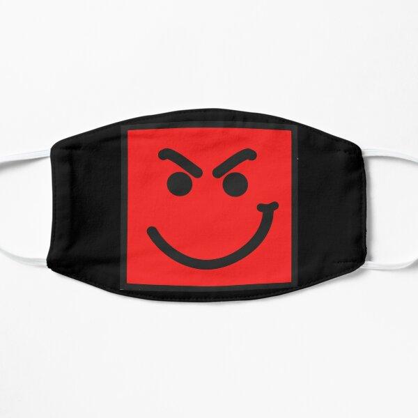 Smirk Face Bon Jovi Mascarilla plana