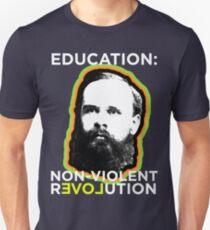 Benjamin Tucker Education Revolution Unisex T-Shirt