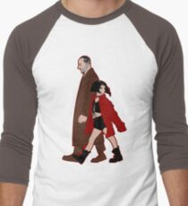 Leon the Professional + Mathilda Men's Baseball ¾ T-Shirt